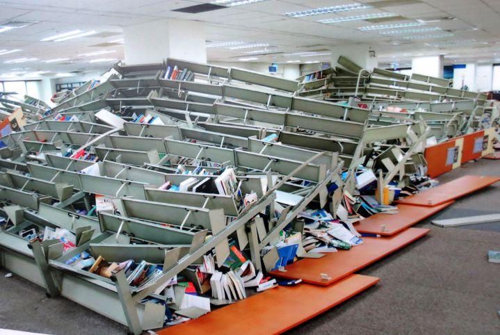 年初地震災情慘 南臺科大圖書館大改造校慶驚艷開張 | 綜合 | 聯合影音