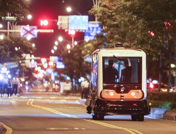 無人駕駛巴士試運行   綜合   聯合影音