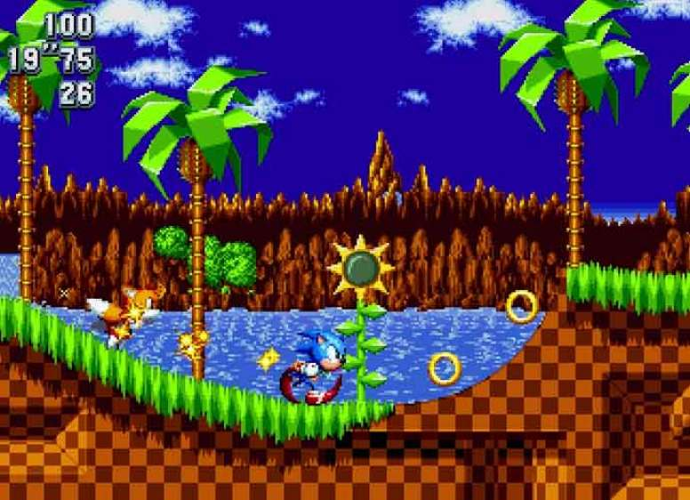 Sonic Mania': Green Hill Zone Act 2 Footage, New Details - uInterview