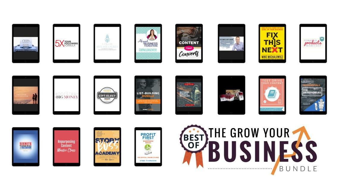 Grow Your Business Bundle 2020