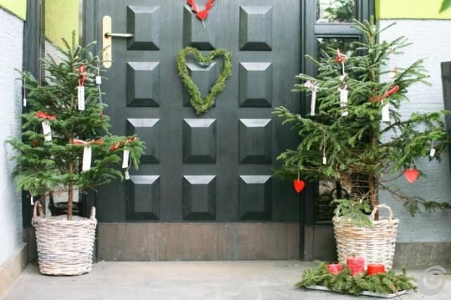 Prima di tutto dà il benvenuto a noi di casa e poi a tutti i nostri ospiti. Le Decorazioni Per La Porta Di Natale Ecco Le Piu Belle Foto Ultime Notizie Flash