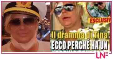 Incidente all'occhio per Tina Cipollari, bendata spiega cosa è successo