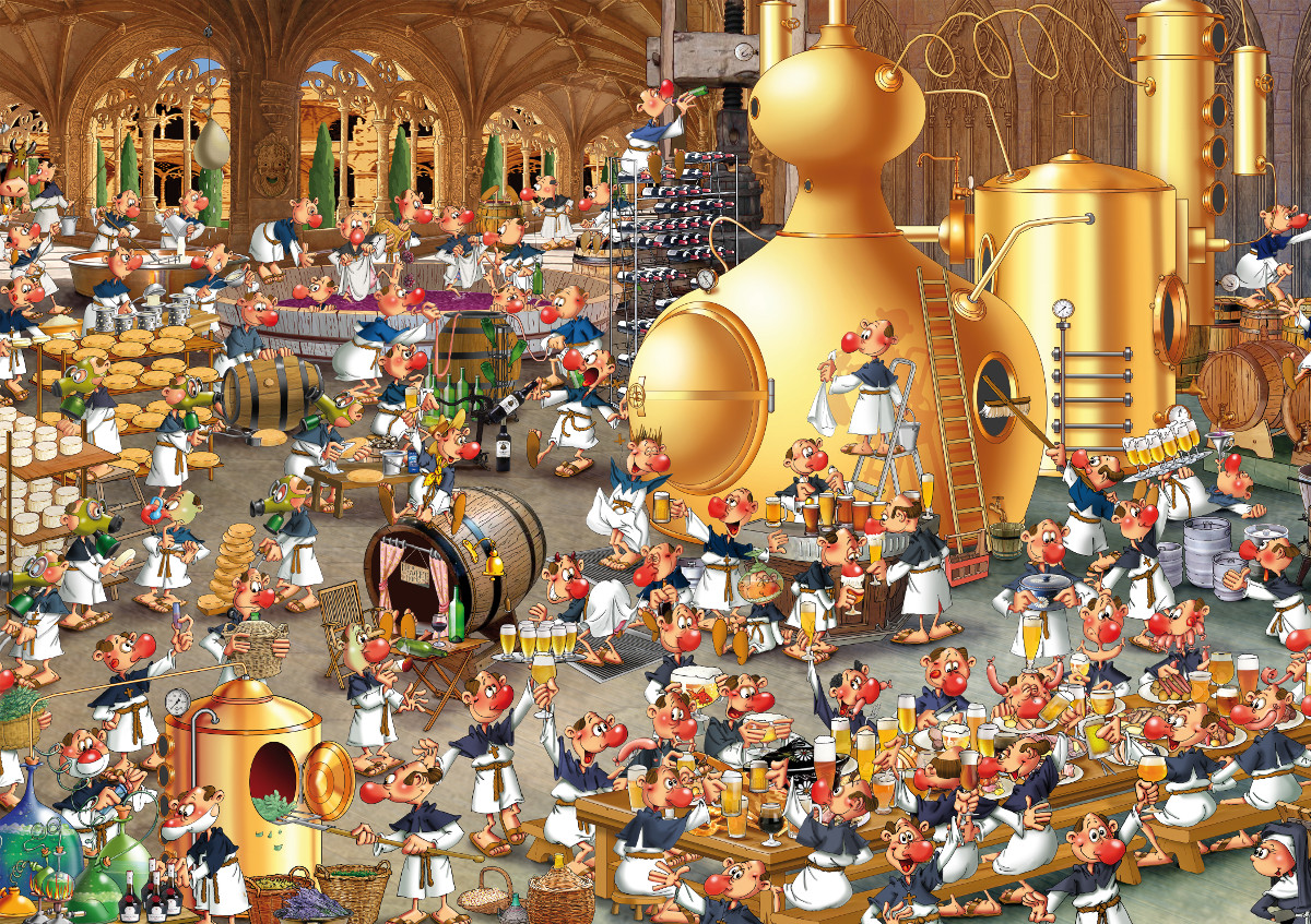 Brewery Jigsaw Puzzle