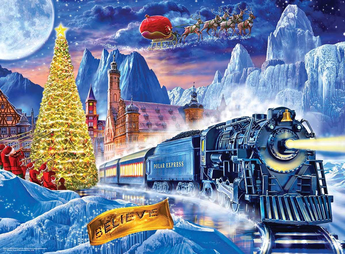 The Polar Express 100 Pieces Masterpieces