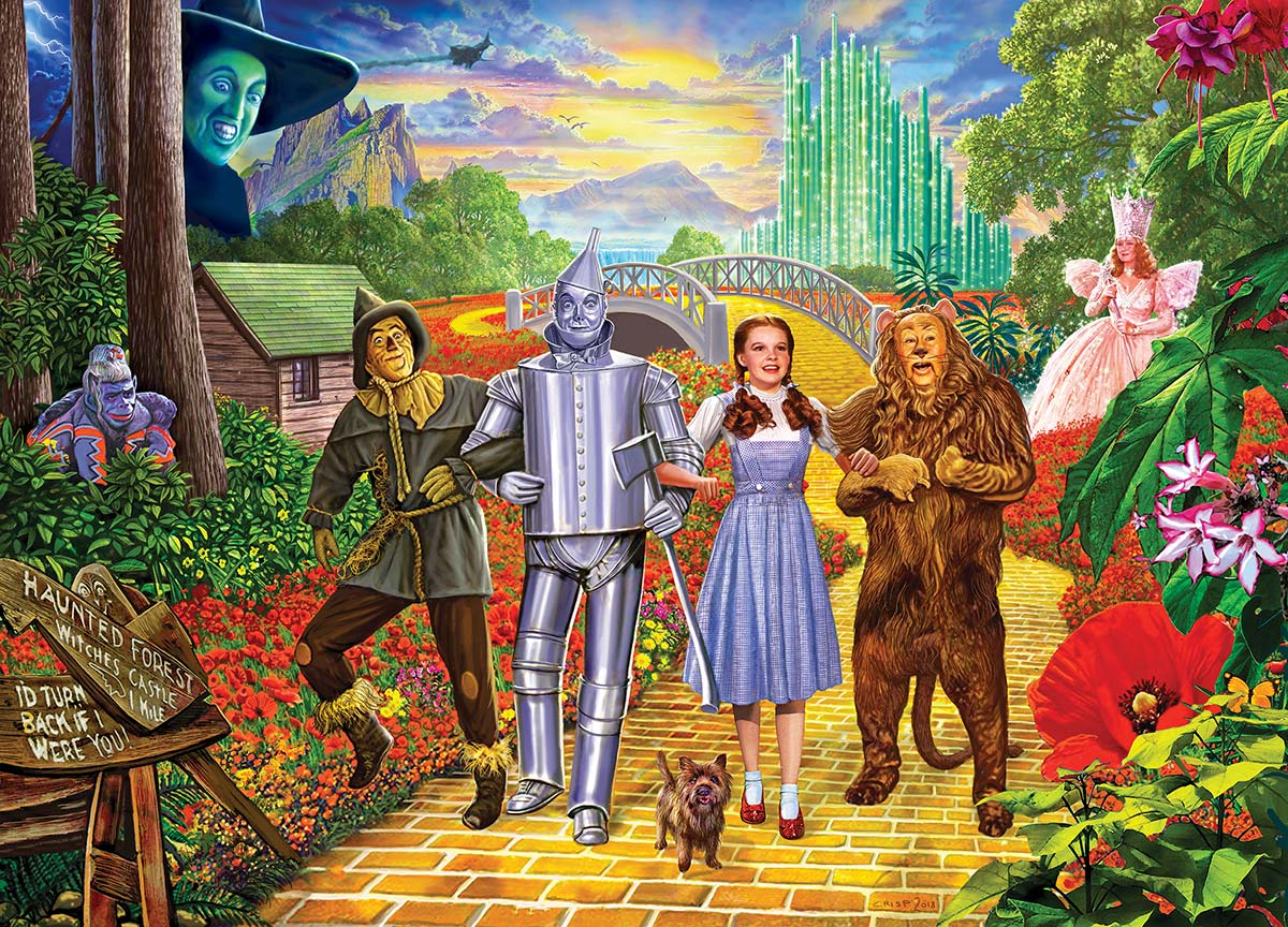 Off To See The Wizard Pieces Masterpieces