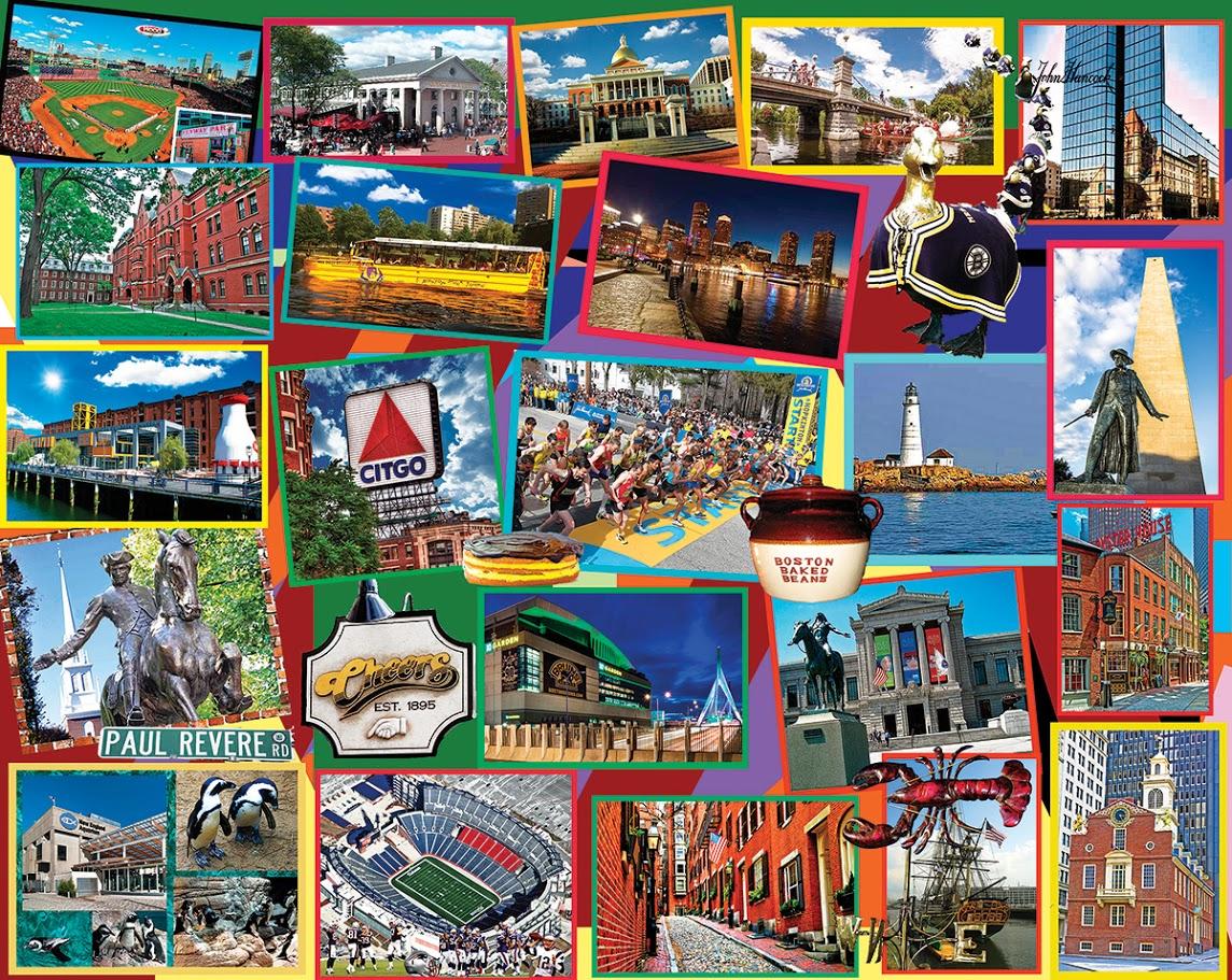 Boston Collage Jigsaw Puzzle