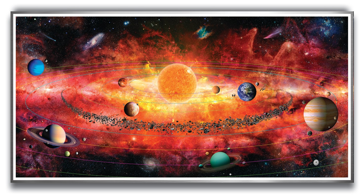 The Solar System Puzzle Jigsaw Puzzle