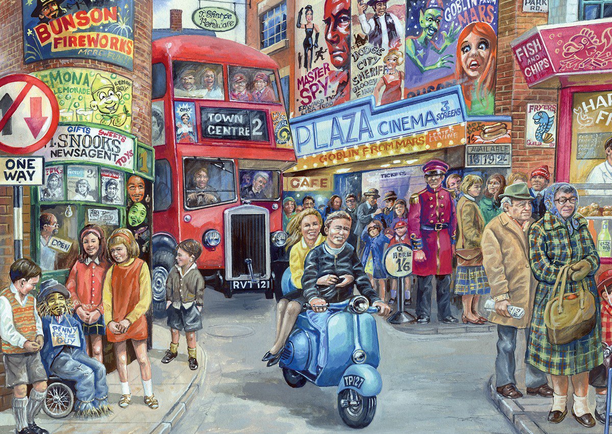 Life In The City Jigsaw Puzzle