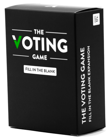 The Voting Game Fill In The Blank Expansion The Voting Game Puzzle Warehouse