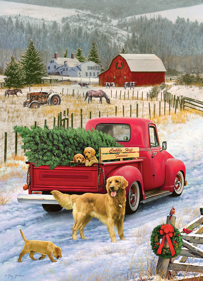 Old Fashioned Winter Christmas Scenes