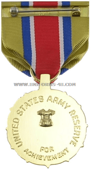 Medal Achievement Army Components Reserve