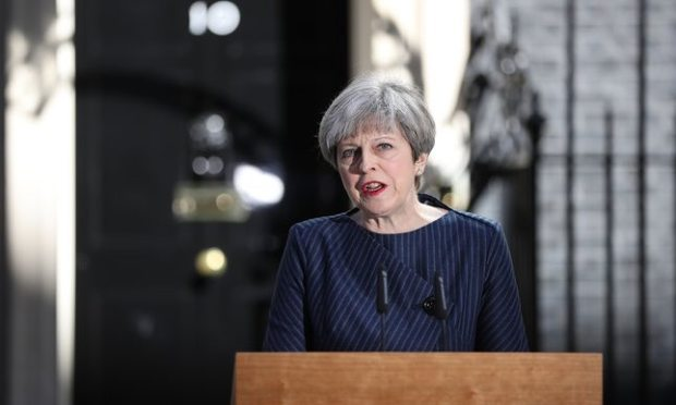 Theresa May Announces General Election On June 8 5050