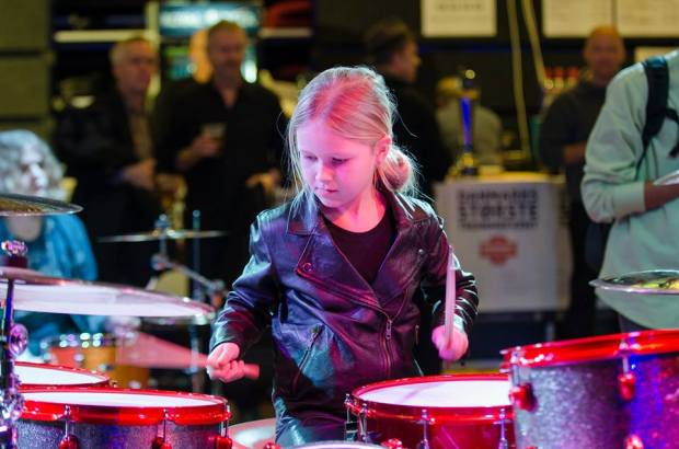 10 Year Old Drummer Wins Denmarks Got Talent With Epic Led Zeppelin Cover Johanne Astrid 1