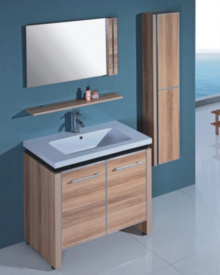 315 Inch Modern Single Sink Bathroom Vanity With