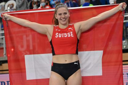 Athletics: Angelica Moser wins gold