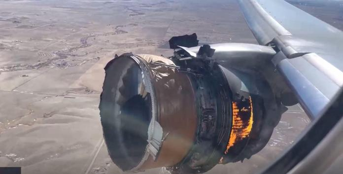 Parts of the engine lost: The passengers on the flight from Denver to Honolulu saw a terrifying sight on Saturday.