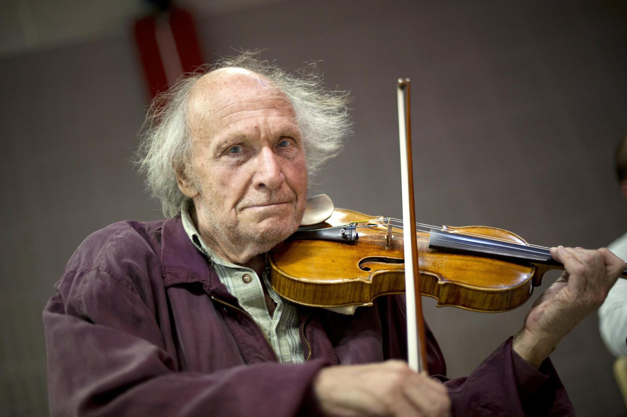 Carnet Noir Ivry Gitlis Musicien Virtuose Et Eclectique N Est Plus Tribune De Geneve
