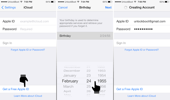change icloud account on iphone how to reset icloud password from your iphone or 3379
