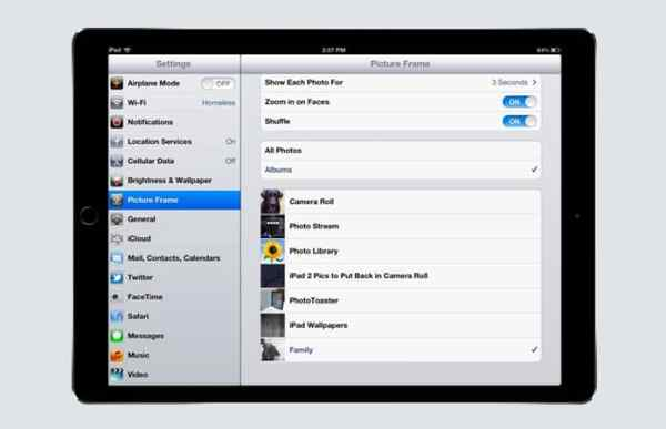 7 Apps to Turn iPad Into a Digital Photo Frame - Haxiphone ...