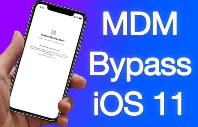 mdm bypass ios 11
