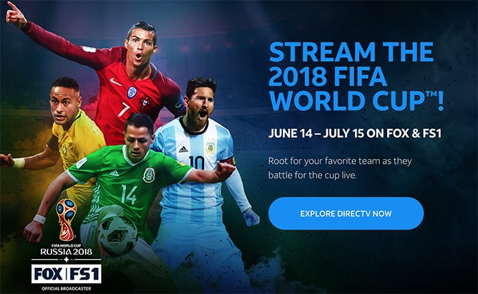 watch FIFA World Cup 2018 online