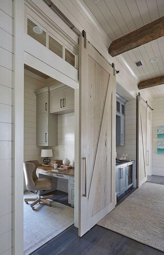 Puertas corredizas estilo granero | Uno Propiedades Blog on Remodel:ll6Wzx8Nqba= Small Kitchen Ideas  id=76101