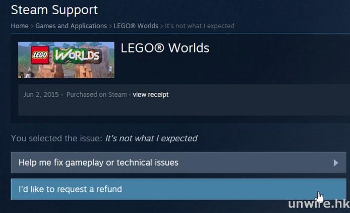 試用 Steam 退款機制,遊戲玩 2 小時不滿意都可退錢 - 香港 unwire.hk
