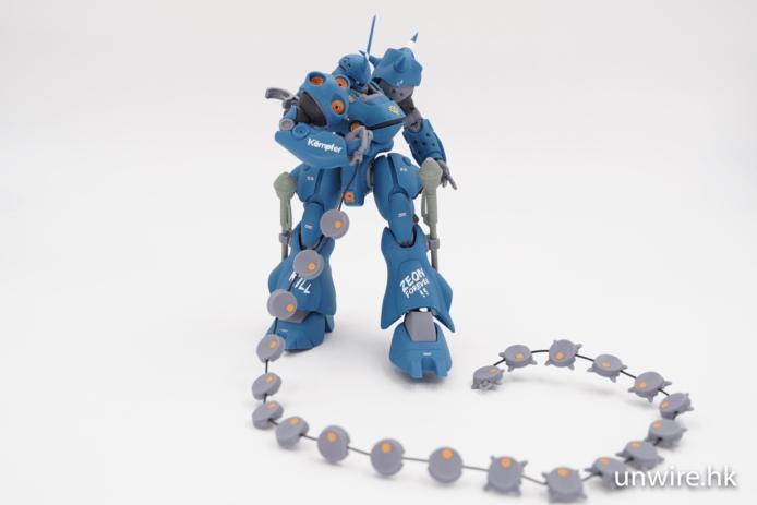 【評測】Bandai Robot 魂 Kampfer 京寶梵 Ver. A.N.I.M.E. 特效件豐富+重現名作場面 - 香港 unwire.hk