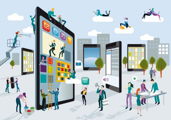 Building Digital Tablets Horizontal