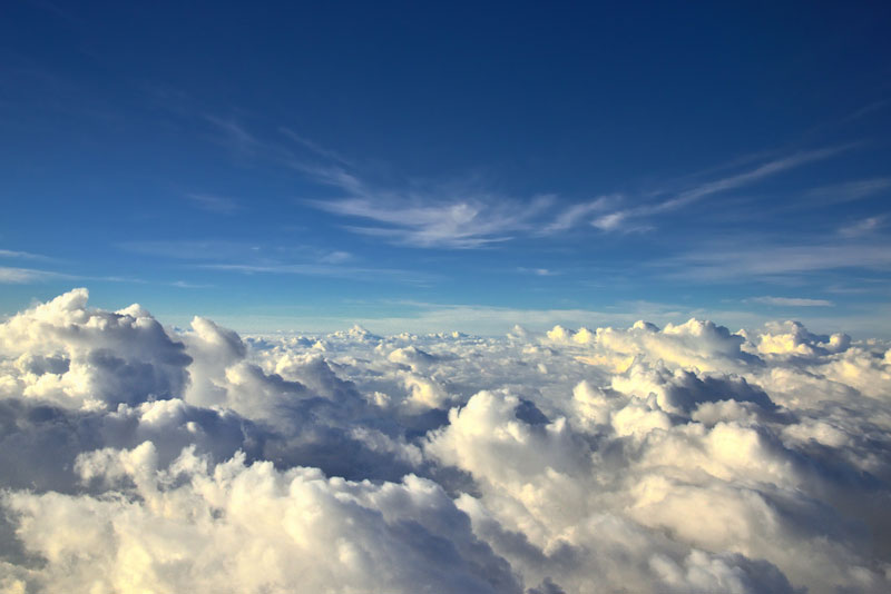 sea-of-clouds-from-an-airplane