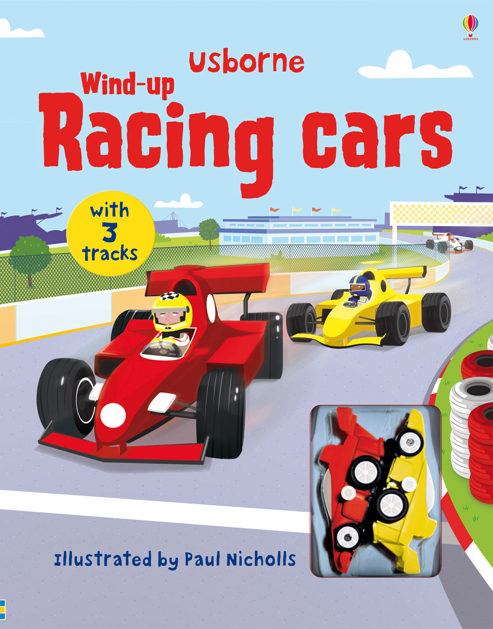 """Wind-up racing cars"" at Usborne Children's Books"