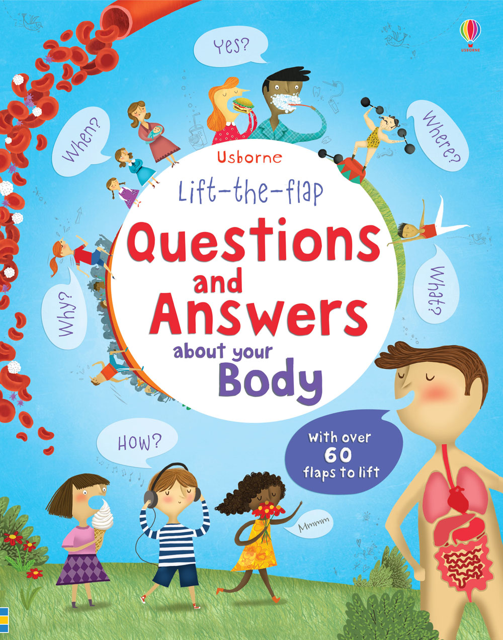 """Lift-the-flap questions and answers about your body"" at ..."