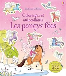 Les poneys fées – Coloriages et autocollants