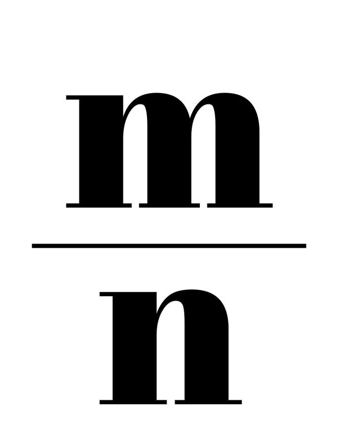 M / N.