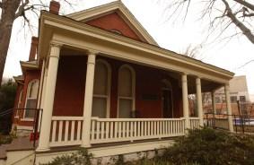 Exterior shot of the Bishop Joseph Johnson Black Cultural Center (Vanderbilt Photo / Daniel Dubois)