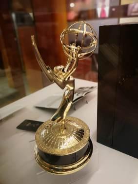 Vanderbilt's Emmy® statuette, from Social 'Dore @lrdoezno
