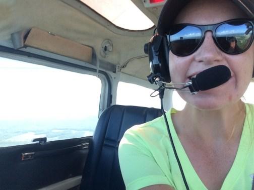 Abbey flying