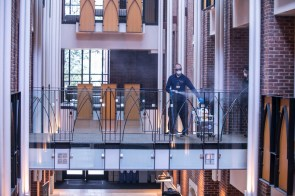 Buttrick Hall Deep Cleaning