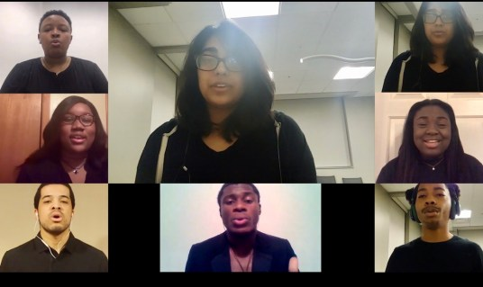 Melanated A Cappella says its mission is to create an inclusive and lively environment for all kinds of singers, rappers and beatboxers to collaborate on a cappella music.