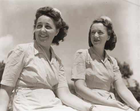 photo of WWII nurses