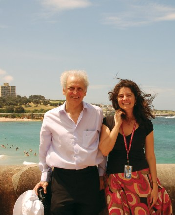Working as senior visiting scientist at Neuroscience Research Australia, with George Paxinos, Sydney, 2010.