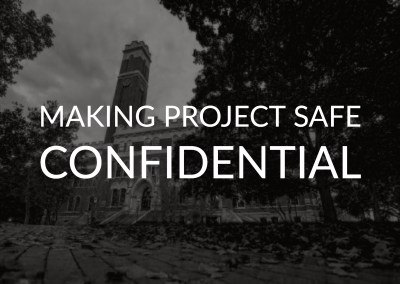 Making Project Safe Confidential