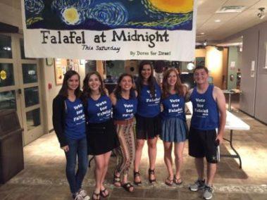 'Dores for Israel at Falafel at Midnight