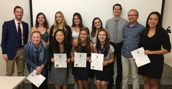 2016–2017 Lambda Pi Eta Induction Ceremony
