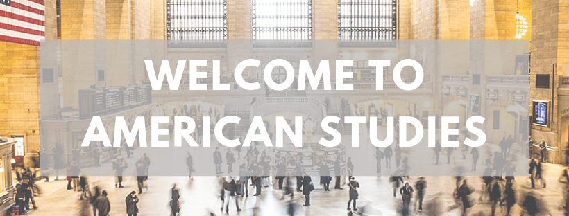 Welcome to American Studies! (1)
