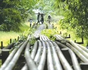 Pipeline Vandalisation, pipe, IPMAN
