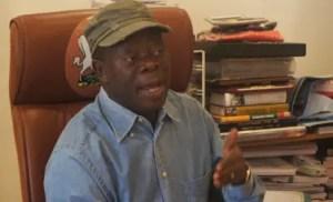 Former governor of Edo State, Comrade Adams Oshiomhole