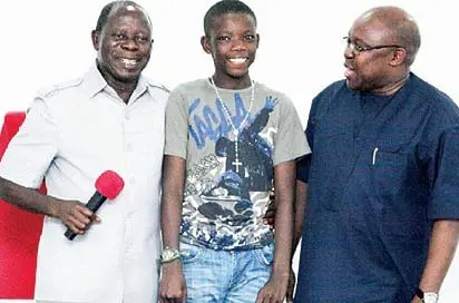 Boy who stowed away in Benin-Lagos plane now in university, begs for help