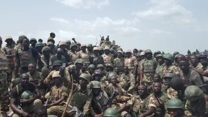 Army approves promotion for 5,000 soldiers fighting Boko