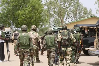 Three Nigerian soldiers killed in mine explosion